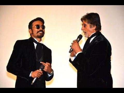 Amitabh and Dhanush stunned the audience...