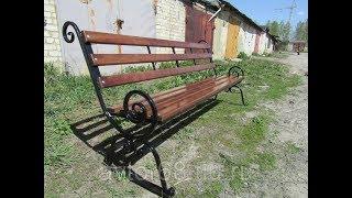 Недорогая скамейка своими руками 2 метра