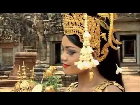 អប្សរាល្ខោនព្រះរាជទ្រព្យ Royal Apsara Dancing in Grounds of Angkor Wat (Cambodia) Complete