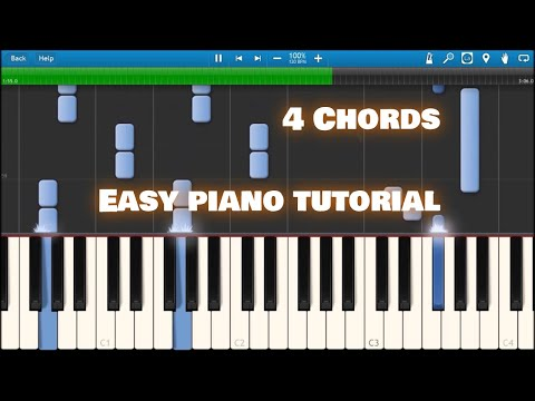 4 Chords  axis of awesome Synthesia