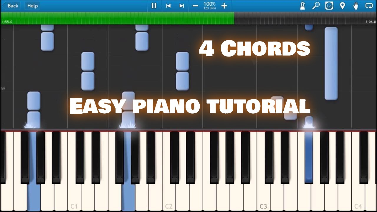 4 chords axis of awesome synthesia youtube 4 chords axis of awesome synthesia piano lyrics hexwebz Images