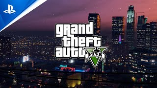 Grand Theft Auto V aฑd Grand Theft Auto Online - PlayStation Showcase 2021 Trailer   PS5