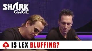 Laak vs. Lex - The Bonus Cut: Shark Cage | PokerStars