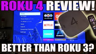 Roku 4 Review: Better Than The Roku 3? Which Should You Buy? (Comparison Demo)