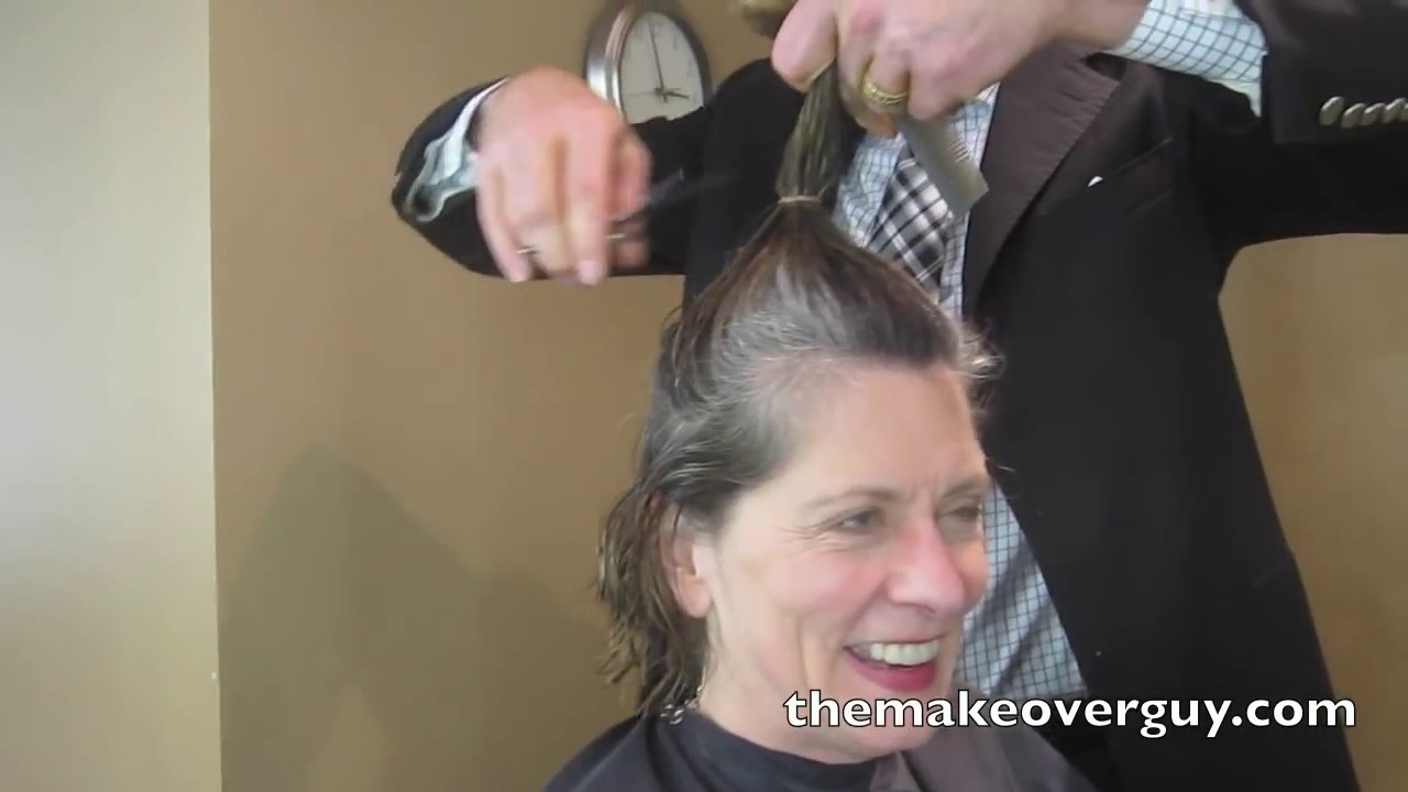 dramatic long hair cut short makeover by christopher makeover i feel authentic by christopher hopkins the
