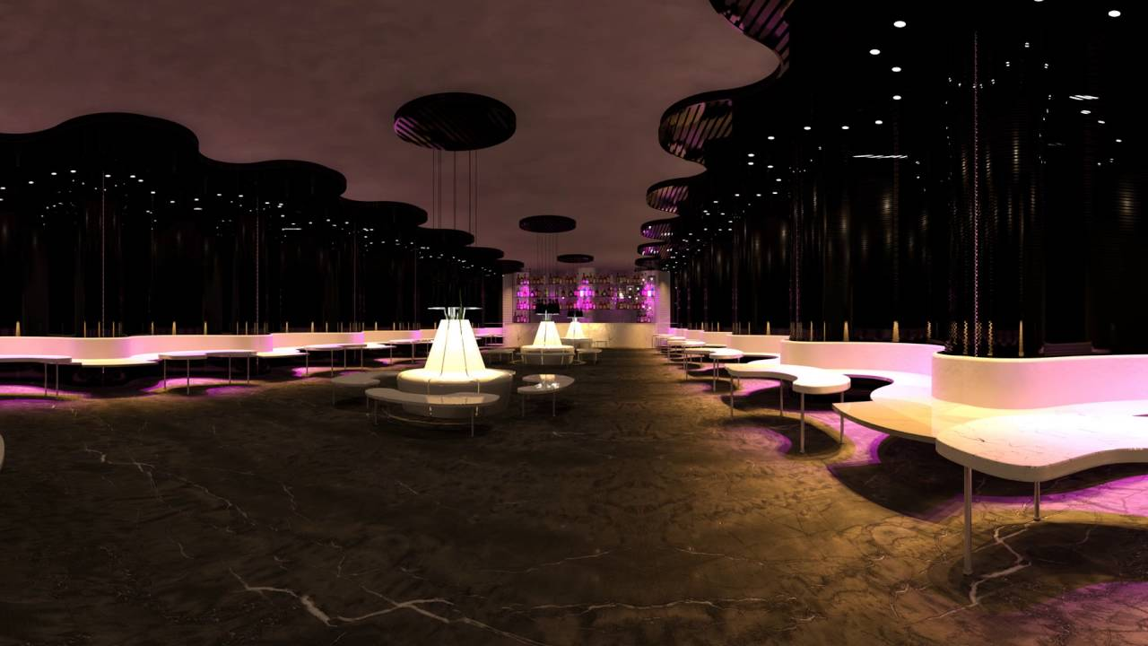 "360 degree panoramic render ""magenta restaurant""www.archvis"