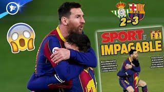 La nouvelle masterclass de Lionel Messi rend folle la Catalogne | Revue de presse