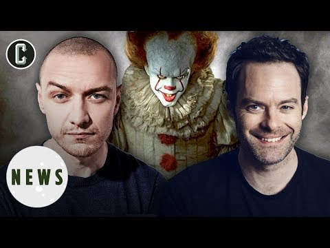 It 2 May Add Bill Hader and James McAvoy to the Losers Club