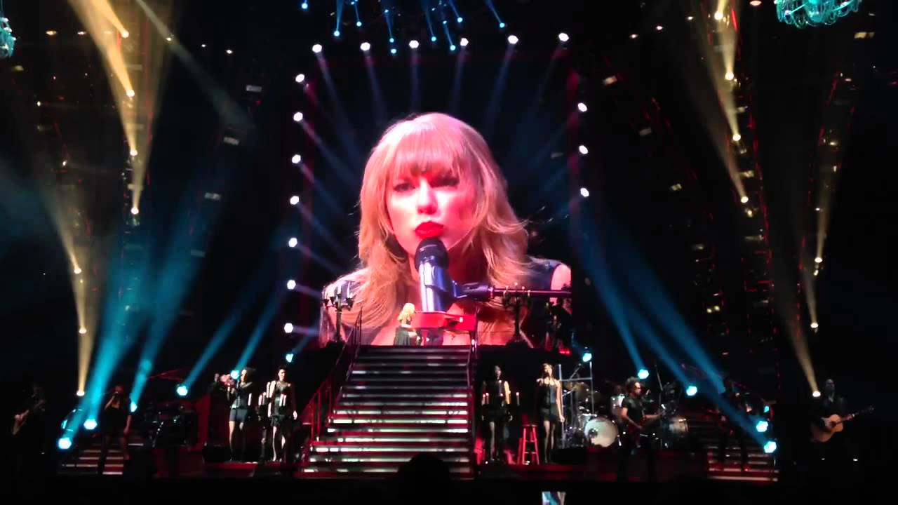 Red Tour Taylor Swift Live
