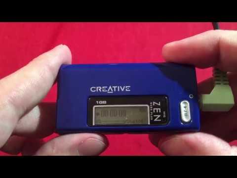 Legacy Tech! Creative Zen Nano Plus FM Stereo Radio Review