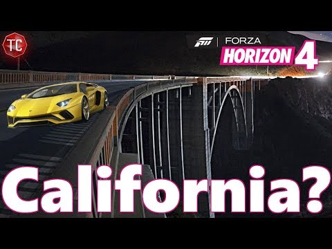 Forza Horizon 4 COULD Be Set in California... Here's Why!