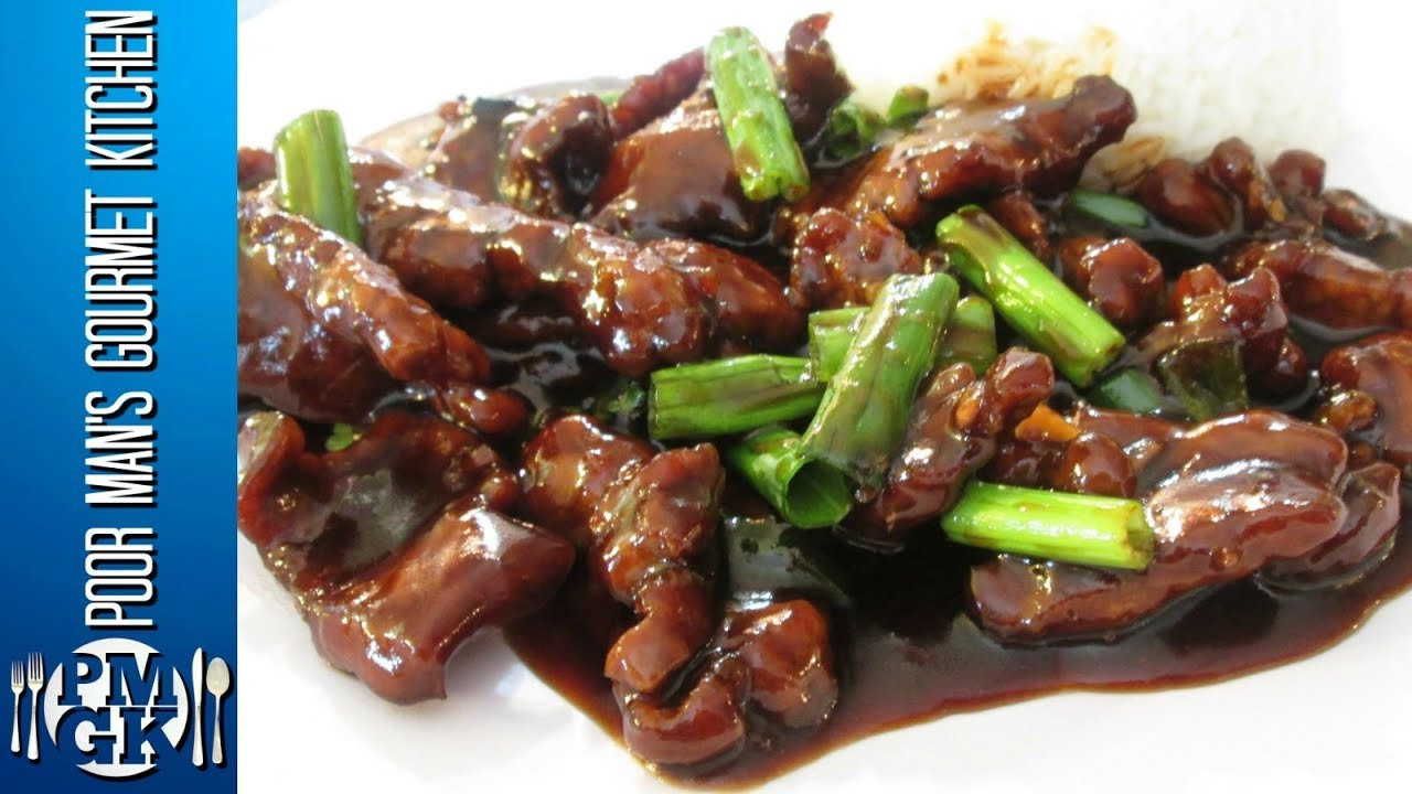Mongolian Beef - Chinese Restaurant Cooking Secrets - PoorMansGourmet ...