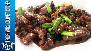 Mongolian Beef - Chinese Restaurant Cooking Secrets - PoorMansGourmet(Recipes can be found at http://poormansgourmetkitchen.com/ Official Twitter Page: https://twitter.com/PMGKcooking Official Facebook Page: ..., 2014-10-20T22:46:27.000Z)