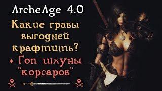 ArcheAge 4.0. Какие гравы выгодней крафтить? Расчеты. Гопнули