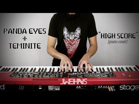 Panda Eyes & Teminite - High Score (Jonah Wei-Haas Piano Cover)