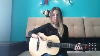 Алена Лайхо -  Видео урок(Давно меня просили снять что-то подобное. Аккорды. Бой . Гитара