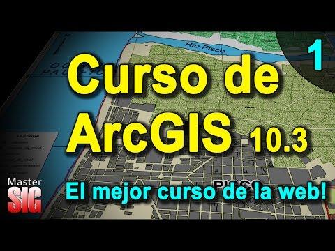 Curso de ArcGIS - Tutorial Completo - parte 1 de 7 | MasterGIS thumbnail