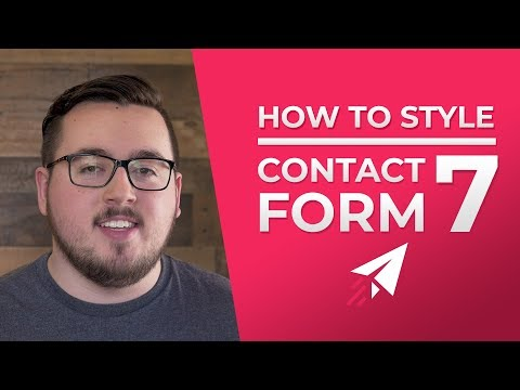 How To Customize The Style Of Contact Form 7 To Match Your Website