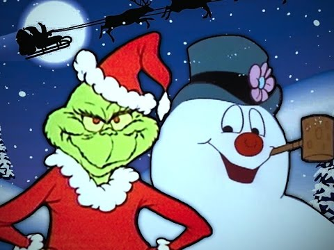 The Grinch vs Frosty the Snowman. Epic Rap Battles of Cartoons Christmas Special.