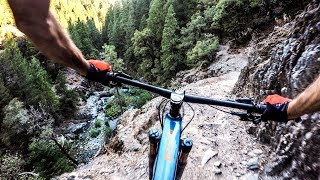 We bit off MUCH more than we could pedal | Mountain Biking Downieville