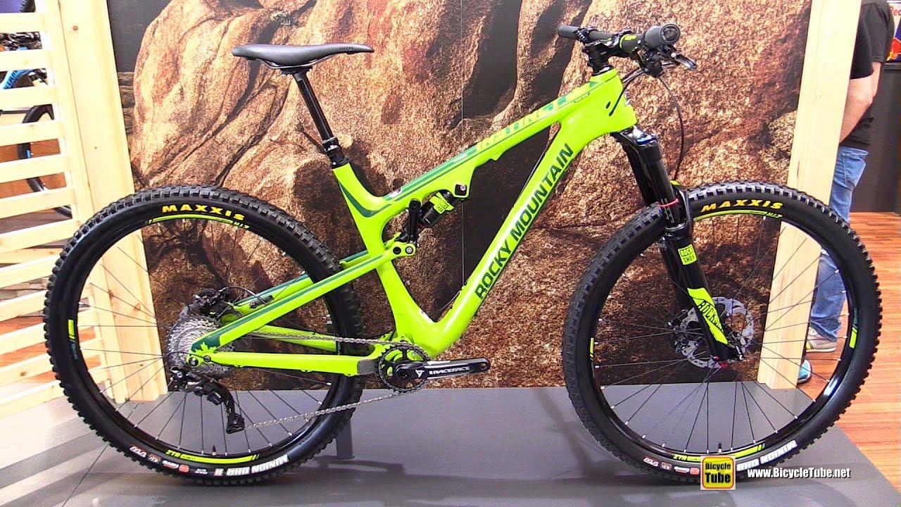 2016 rocky mountain instinct 990 msl bc edition mountain bike rh youtube com Adjusting Mountain Bike Gear 27 Mountain Bike Touring Gear