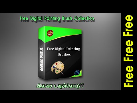 Free Digital Painting Brush Collection.