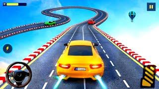 Impossible Stunt Car Tracks 3D - Ramp Stunts Racing Extreme Cars Games Simulator - Android Gameplay screenshot 2