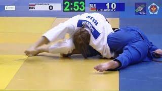 Kseniia IVANOVA (RUS) - Viktoryia KURLOVICH (BLR) U57, European Cup...
