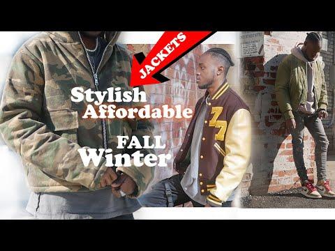 BEST FALL/Winter Jackets/OUTERWEAR To Wear Now   RHUDE Camo Jacket Alternative, Varsity Jacket