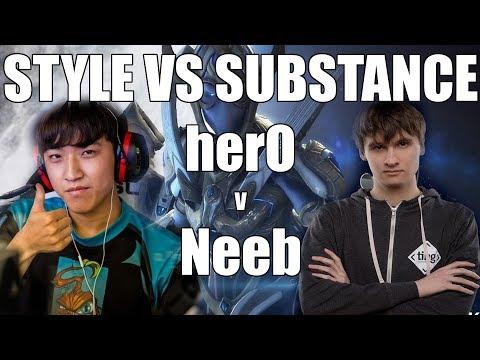 STYLE VS SUBSTANCE | herO vs Neeb - Grand Finals Hangzhou Starcraft Festival