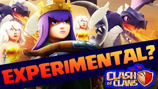Clash of Clans ♦ EXPERIMENTAL and 'Strange' Attack Strategy? ♦ CoC ♦
