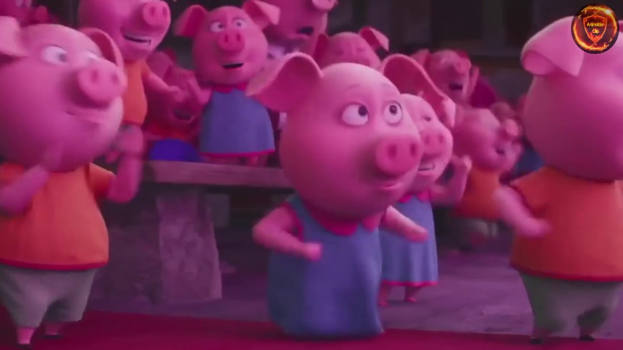 Sing Movie Trailer Pig Full Shake It Off Rosita And