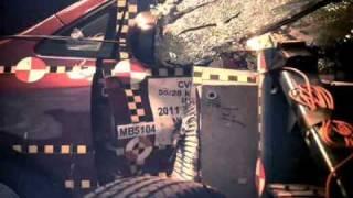 Crash Test 2011 - 20** Toyota Sienna (Side Impact) Nhtsa