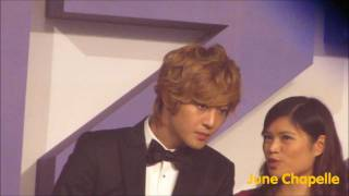 20111220 KIM HYUN JOONG Yahoo Buzz Awards