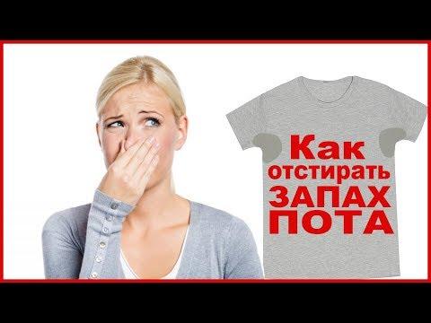 Как отстирать запах пота подмышками с одежды