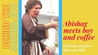 Abishag's adventures in Quarantine... meeting TJ, Alexa, and coffee