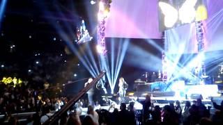 "Diana Reyes ""Mirame"" y Llegada De Lupillo Rivera Homenaje Jenni Vive 2013 Arena Monterrey"