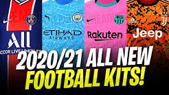 All NEW Football Kits 2020/21 FOR Barcelona , Man Utd, Juventus and MANY MORE!