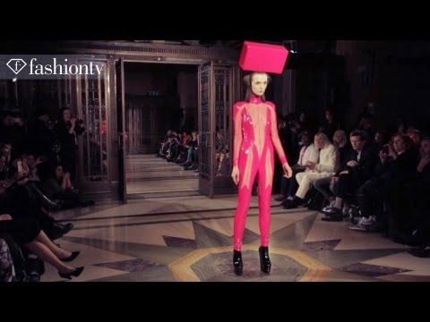 Pam Hogg Fall/Winter 2013-14 Show at Fashion Scout | London Fashion Week LFW | FashionTV