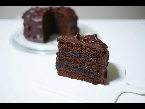 노오븐! 🍫초코 범벅 케이크 만들기 Chocolate Cake Recipe (Without Oven) | 한세