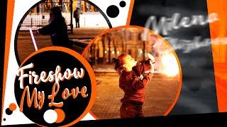 FIRESHOW /  FireGirl :з Poi, Levistick, Fire Fans, Contact Staff, Palm Torches