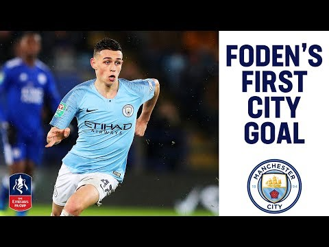 Phil Foden Scores His First Home City Goal! | Man City 2-0 Rotherham | Emirates FA Cup 2018/19