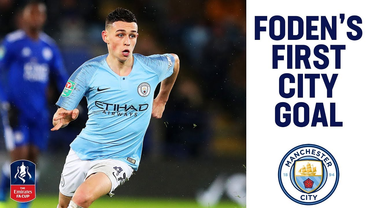 Phil Foden Scores His First Home City Goal! | Man City 2-0 ...
