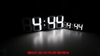 Η τεράστια ρολογάρα της Digoo! [Digoo DC-K3 Plus]
