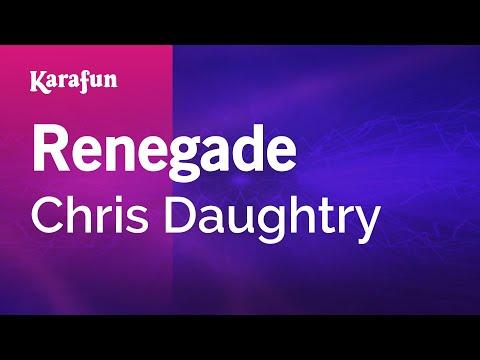 Karaoke Renegade - Chris Daughtry *