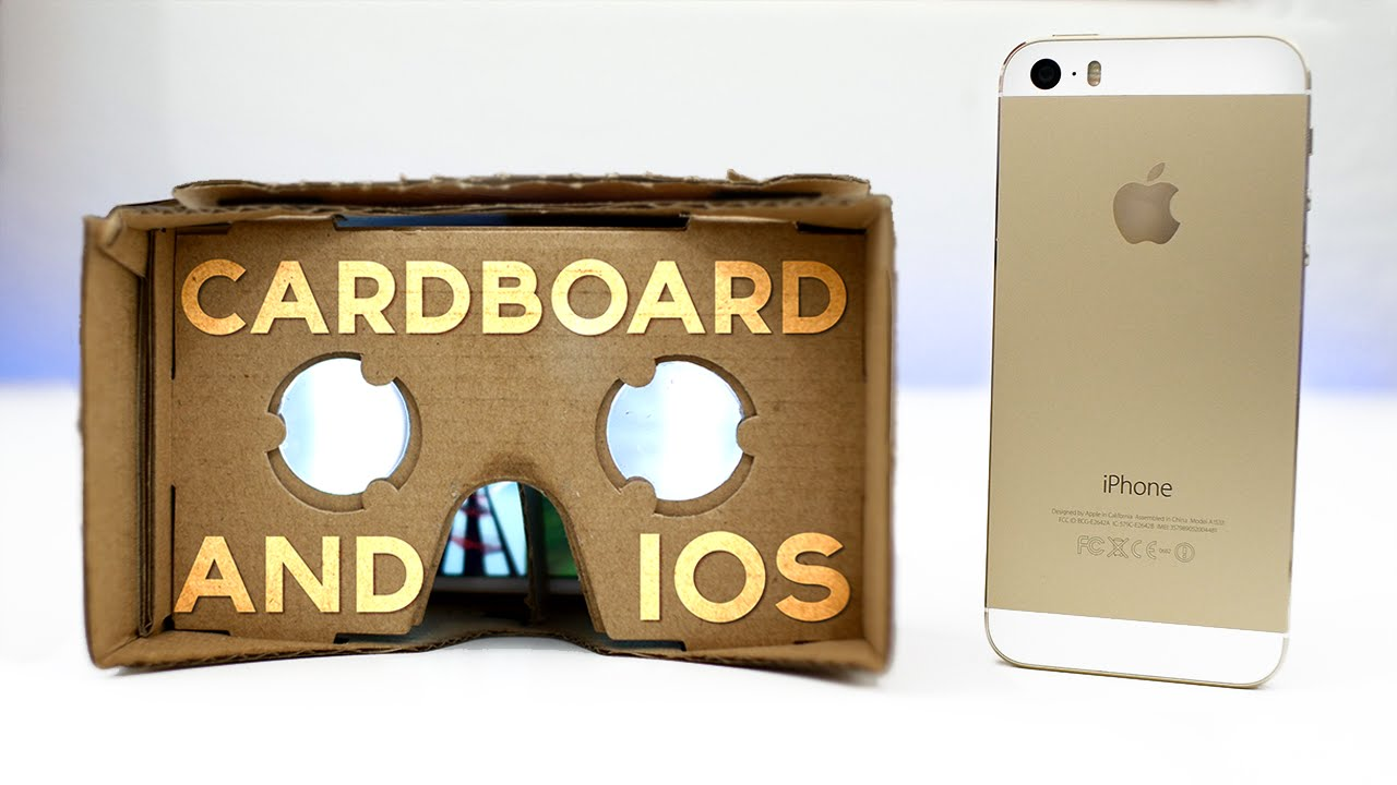 Budget Apple Vr Headset Google Cardboard Iphone Youtube