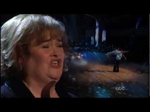 Susan Boyle ~ Unchained Melody ~ Dancing With The Stars (11 Oct 11)