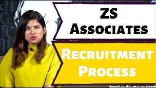 ZS Associates Recruitment Process and Pattern 2019 - 2020