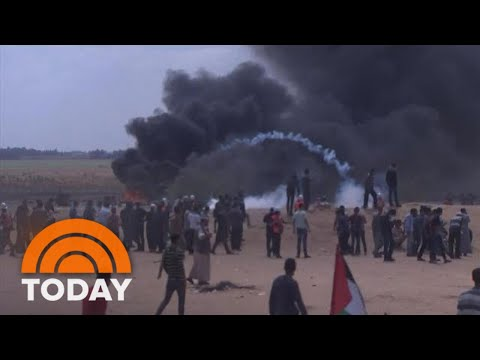 New US Embassy In Jerusalem Opens Amid Protests | TODAY