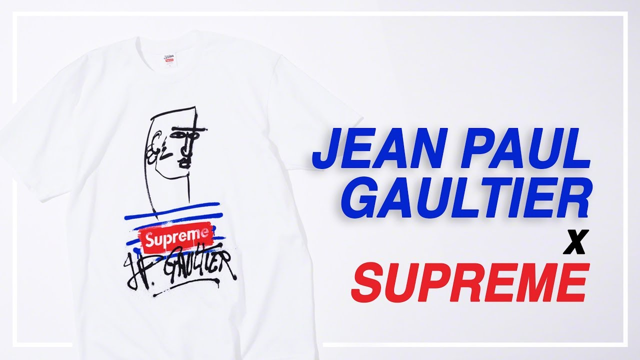 446528bf98c Jean Paul Gaultier x Supreme Tee - Review/On-Body Look - YouTube